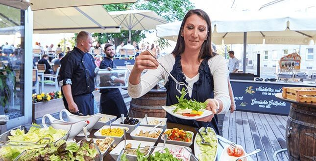 Partyservice Brühlscher Garten