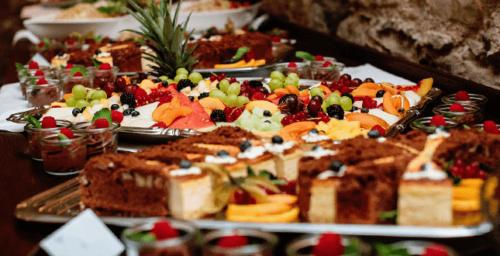 Wir stellen Ihnen ein individuelle Hochzeitsbuffet nach ihren Wünschen zusammen!