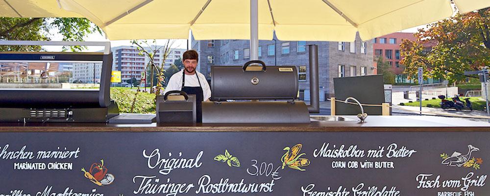 Leckere Köstlichkeiten vom Holzkohlegrill direkt in Dresden